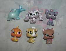 MGA Bratz Pets - Small Like Pet Shops - Lot of 6 - Dog, Bird, Cat, Dolphin