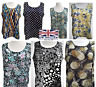 Plus Sizes Printed Tunic Tops Special Summer Sleeveless Vests  for Ladies Womens