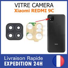 Xiaomi Redmi 9C vitre lentille appareil photo camera arrière verre lens glass