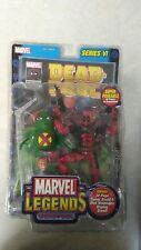 Toybiz Deadpool series 6 action figure marvel legends