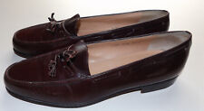 Salvatore Ferragamo Dark Brown Tassle loafer Firemier 10.5D