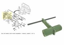 Military Truck M977 M985 M978 Heavy Duty Trailer Winch Shaft Assembly