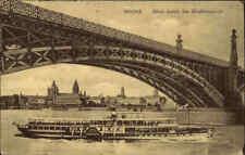 Feldpostkarte 1918 Stempel MAINZ Rhein Schiff 1. Weltkrieg Feldpost gelaufen
