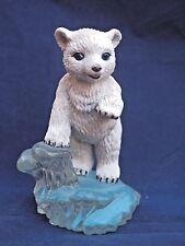 Lookin Out Bear Polar Playmates Hamilton Collection Sculpture Figurine 1997