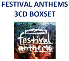 3CD NEW FESTIVAL ANTHEMS GLOBAL GATHERING Prodigy Avicii Tiesto Orbital Gift
