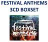 3CD NEW FESTIVAL ANTHEMS GLOBAL GATHERING Prodigy Avicii Tiesto Orbital Gift