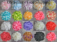 400/1200/2000 PCS ROSE FLOWER PETALS WEDDING PARTY TABLE FLORAL CONFETTI