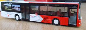 Rietze Bus MAN Lions City Ü Teuteburger Wald Bus DB BAHN Linie 931 1/87