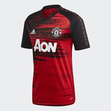 20/21 Manchester United Pre-Match Training Suit Mens Football Tops Sport T-shirt