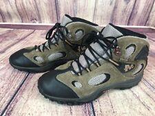 Merrell Chameleon Mid WTP Kids Size 6 / 37 Kangaroo / Boa Grey Hiking Boots om4