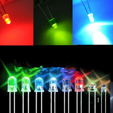 White Green Red Blue Yellow 3mm 100pcs LED Light Bulb Emitting Diode Lamps CHI
