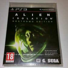 Alien Isolation NOSTROMO Edition PS3 New Sealed UK PAL Sony PlayStation 3