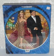 James Bond 007 Barbie and Ken 2002 BARBIE Gift Set NRFB Collector Edition B0150