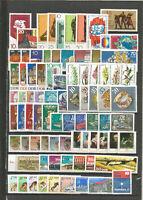 DDR   1976  Postfrisch kompletter Jahrgang