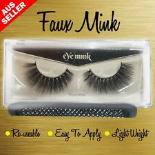 Natural Faux Mink Lashes 100% Beauty 880923987981