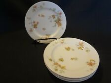 Haviland China - Autumn Leaf - Set of 4 Bread Plates - Smooth Rim No Trim