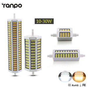 R7S 5730 78 118 135 189MM LED Flood Bulbs 220V 10 20 25 30W Replacement Lights