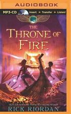 Kane Chronicles: The Throne of Fire 2 by Rick Riordan (2014, MP3 CD, Unabridged)