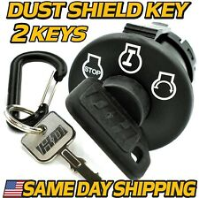 Starter Ignition Key Switch replaces Bad Boy Mowers 077-8076-00 Includes 2 Keys