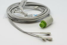 ECG/EKG 1 PIECE  Cable with 3 leads Datex Ohmeda GE S5 EKG NEW US seller