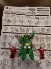 Power Rangers Super Megaforce NINJA ZORD with 2 RANGER KEYS 2014 Bandai