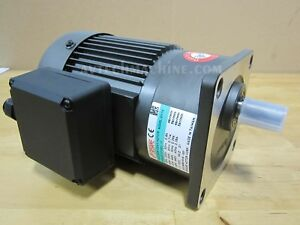 Sesame Motor Chip Auger G11V100U-30 3 Phase 230V/460V Ratio 1:30