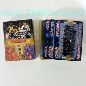 Deck 54 cards of The NBA Basketball All Stars COLLECTION Playing card/Poker