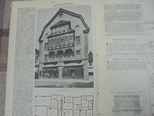 1908 Baugewerkszeitung 34 /  Geschäftshaus Upmann in Celle
