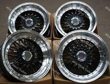 "17"" Noir RS alloy wheels Fit Mini R50 R52 R55 R56 R57 R58 R59 Clubman 4x100"