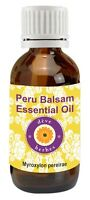 Pure Peru Balsam Essential Oil Myroxylon pereirae 100% Natural by deve herbes