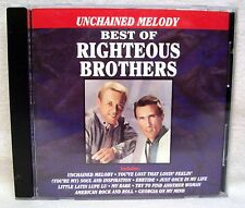 Unchained Melody Best Of Righteous Brothers CD USED CD