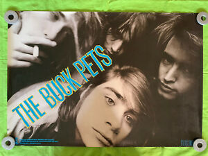 The Buck Pets PROMO POSTER 1989 Island Records 29x20