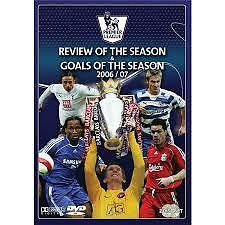 REVIEW OF THE SEASON + GOALS OF THE SEASON 2006/07 2DVD SET BRAND NEW SEALED EPL