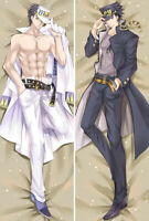 Anime Dakimakura JoJo's Bizarre Adventure Kujo Jotaro Hug Body Pillow Case Cover