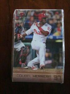 2016 Philadelphia Phillies Team Player Photo Card Set Jim Thome Odubel Herrera