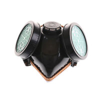 Anti-Dust Spray Chemical Gas Dual Cartridge Respirator Paint Filter Mask_TI