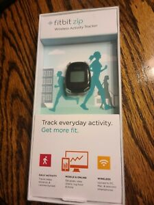 New Sealed Fitbit Zip Wireless Activity Tracker FB301C Black