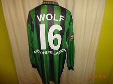 Borussia Mönchengladbach Reebok Matchworn Trikot 1995/96 + Nr.16 Wolf Gr.XL