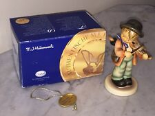 Final Issue 2003 Goebel Hummel Porcelain Figurine, Little Fiddler Boy - Germany