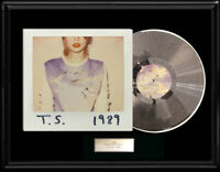 TAYLOR SWIFT WHITE GOLD SILVER PLATINUM TONE RECORD LP 1989 ALBUM RARE NON RIAA