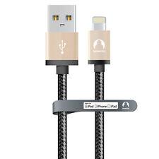 iPhone X 8 7 6 5 MFi  cable  lightning-USB 8pins Snowkids 2m rosegold
