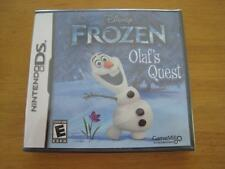 DS Disney Frozen: Olaf's Quest  *BRAND NEW. FACTORY SEALED*