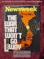NEWSWEEK April 17 1972 Apr 4/17/72 VIETNAM WAR WON'T GO AWAY APOLLO 16