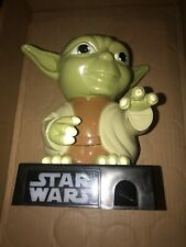 "Large STAR WARS YODA Candy Dispenser 2012. 9"" Inches Tall"