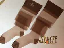 "6 Pair Vintage 60's Berkshire Nylon Stockings 10 X 34"" M 3 TINT 3 GREY *2 BOXES"