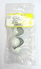 4 Pz Condy Paraspigoli bianchi biadesivo plastica semi-morbida ø 25 mm nuovo
