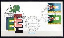 Italy - 1979 European parliament Mi. 1659-60 clean unaddressed FDC