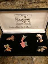 Cinderella's 50Th Anniversary Collection Of 5 Pins