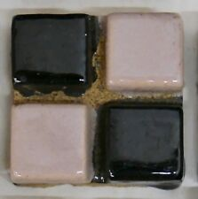Malibu Checkerboard Design Tile-PINK/BLACK