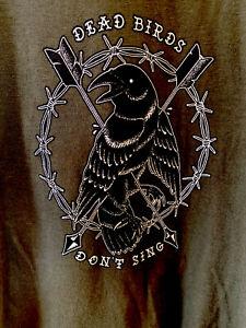 Dead Birds Don't Sing Men's Band T Shirt Size 3XL XXXL
